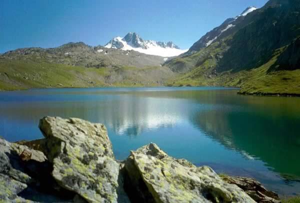 Lacs de Bramant et Glacier de St Sorlin, France