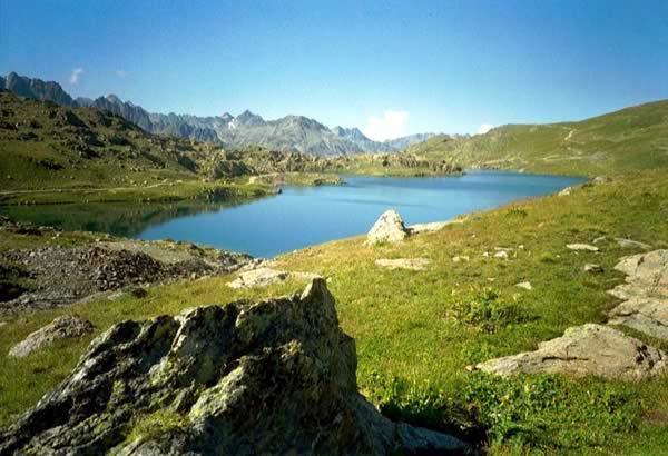 Lac de Bramant, France
