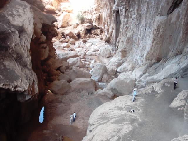 Grotte Imi Nifri au Maroc