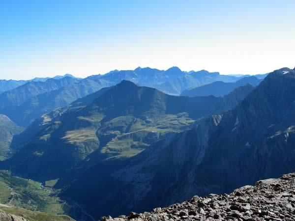 Vallée de Gavarnie depuis le Casque