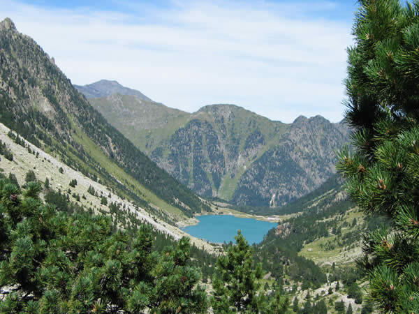 Au dessus du lac de Gaube