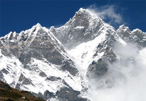 Lhotse depuis le Chhukung Ri