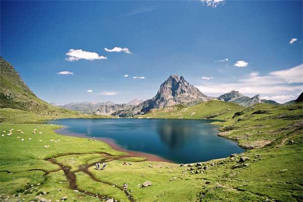 Lac Gentau et Ossau
