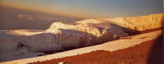 glacier sommital