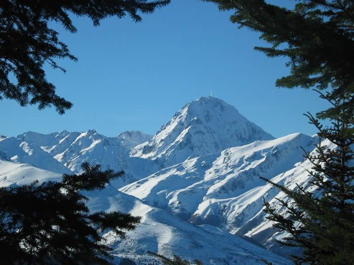Pic du Midi de Bigorre depuis Aspin
