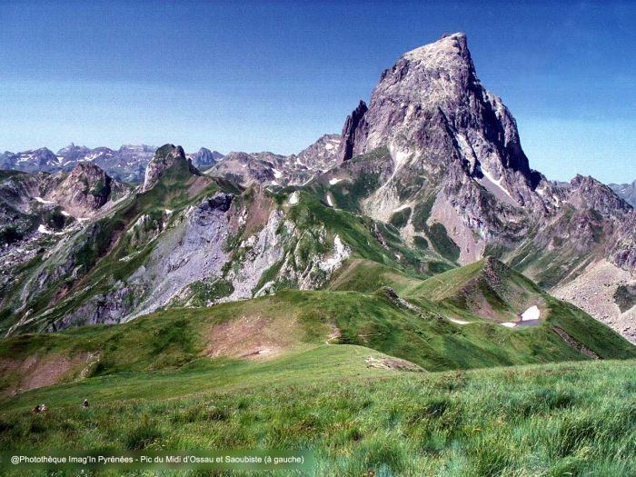 Pic du Midi d'Ossau depuis le Chérue