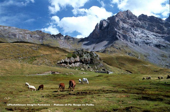 Plateau et Pic Rouge de Pailla