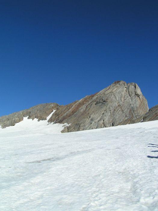 Le vignemale depuis le glacier