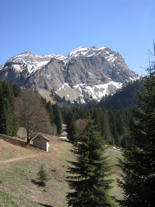 Le Roc d'Enfer - Haute-Savoie, France