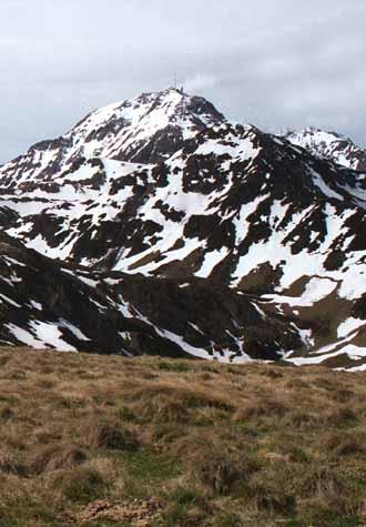 Midi de Bigorre depuis la Hount Blanque