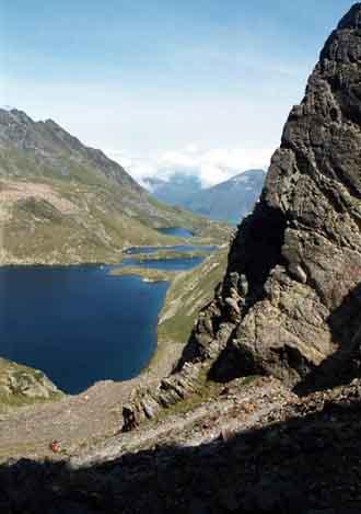 Lacs de Boums depuis Vénasque