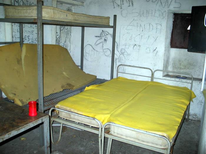 Intérieur de la cabane de Cestrède