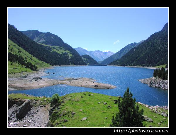 Lac d'Aubert dans les Hautes-Pyrénées