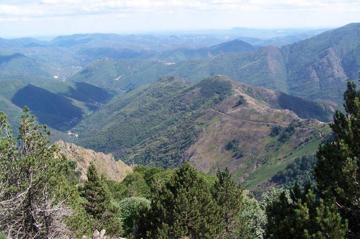 Montée vers le sommet (côté sud est)