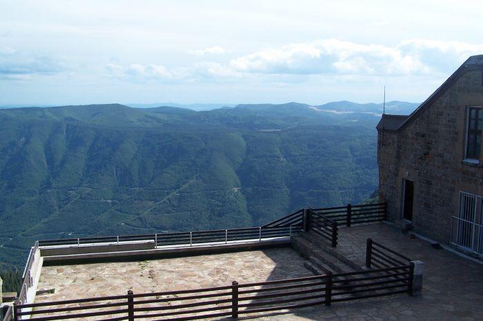 Vue de l'observatoire