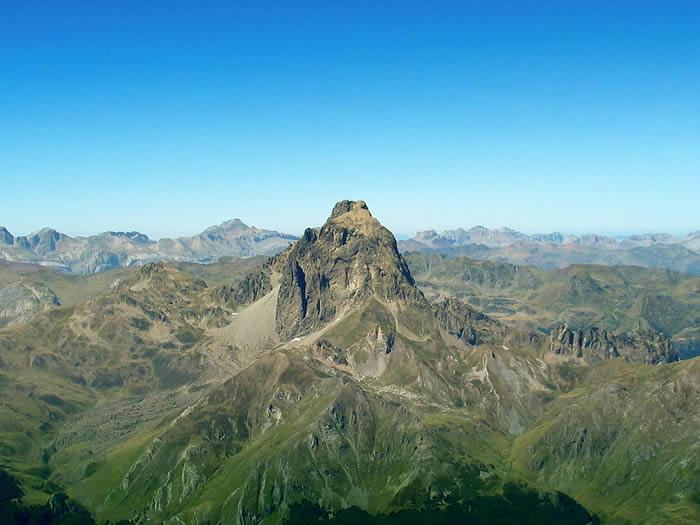 OSSAU depuis le sommet du Lurien