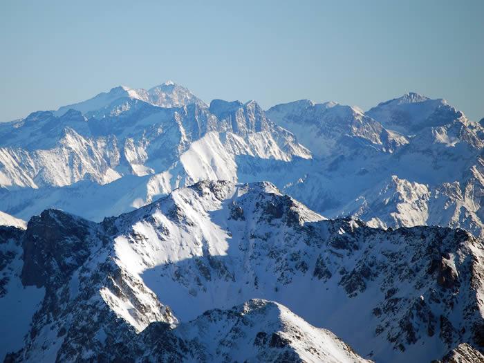 Pic d'Aneto 3404m depuis le pic du midi de Bigorreuis
