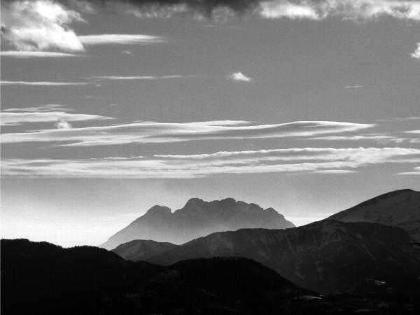Massif du Pedraforca depuis Font Romeu