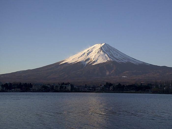 Mont Fuji depuis le lac Kawaguchi