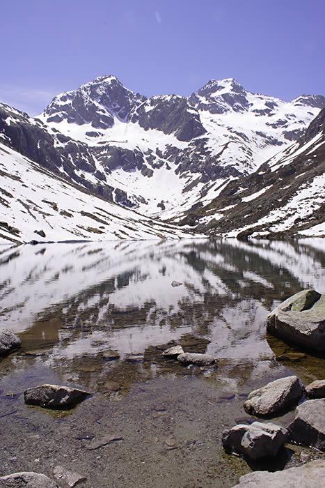 Lac d'Estom - Avril 2006