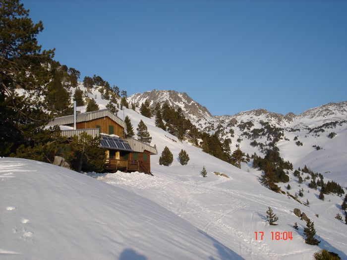 Refuge des besines