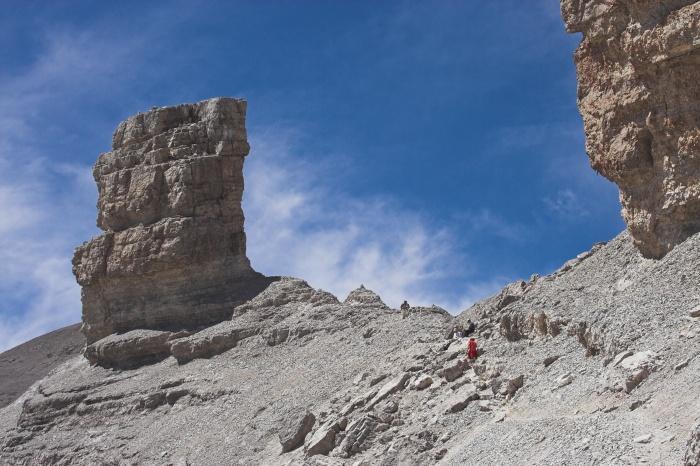 Randonnée pédestre : Casque du Marboré et pic du Taillon