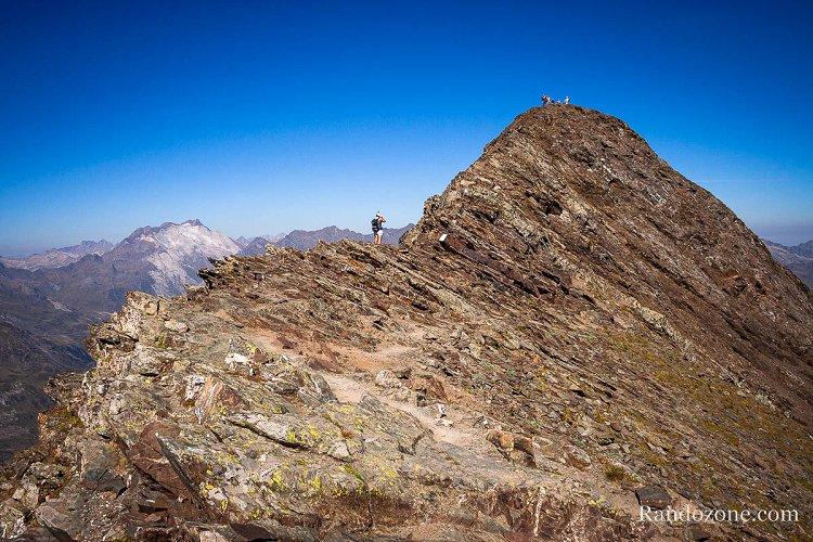 Dernière crête avant le sommet