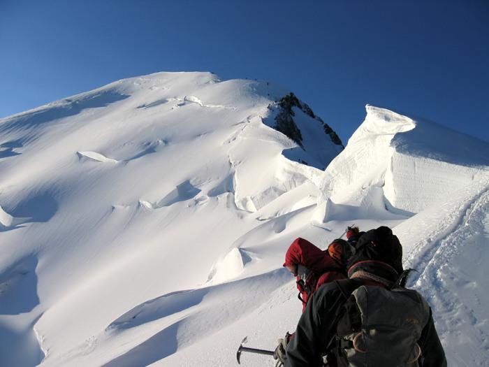 Mont-Blanc - Arrête des Bosses