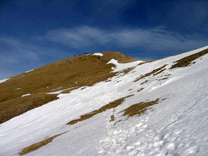 Castillo de Acher - Le sommet