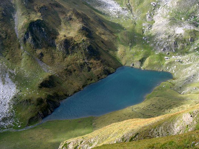 le lac de Lhurs en montant au Billare