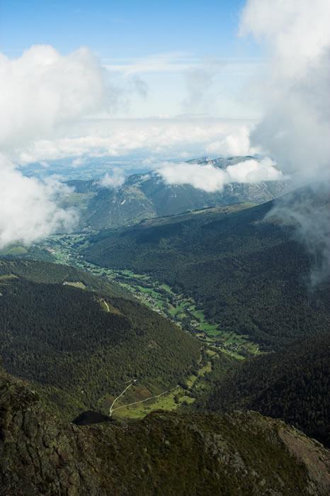 Depuis le sommet du Montaigu