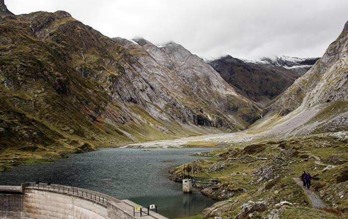 Barrage et lac d'Ossoue