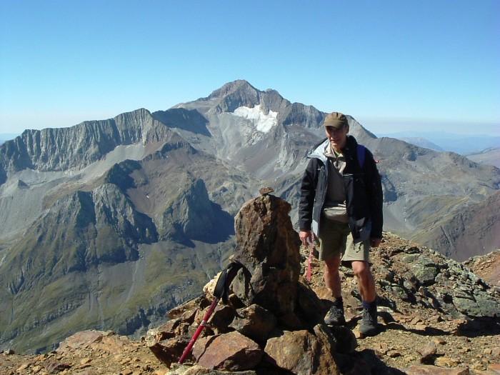 Pic de Clarabide ou de Pouchergues 3020 m.