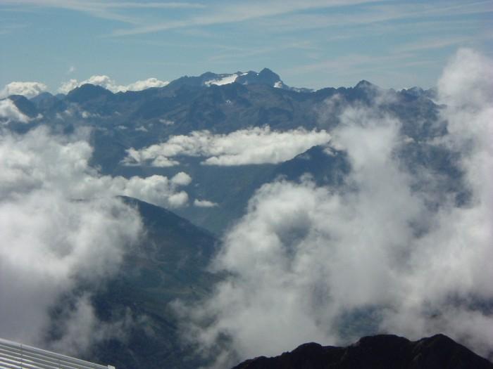 Vignemale depuis le pic du Midi de Bigorre