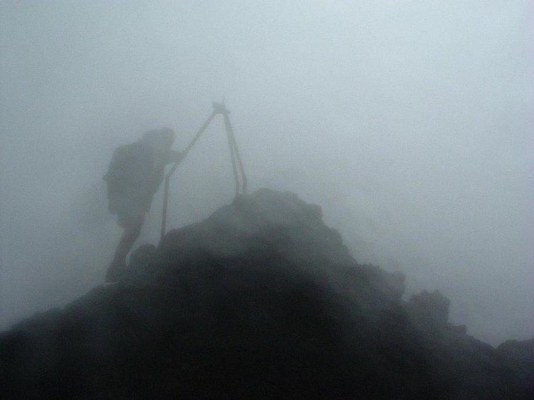 Piton de la Fournaise : Sommet du cratère Bory
