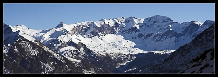 Panorama du cirque de Troumouse