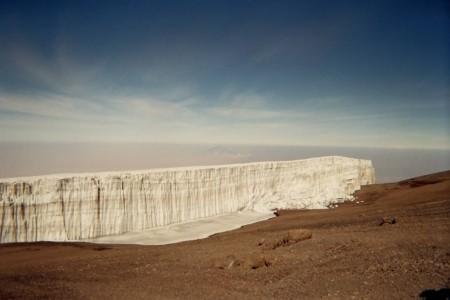 glaciers du sommet