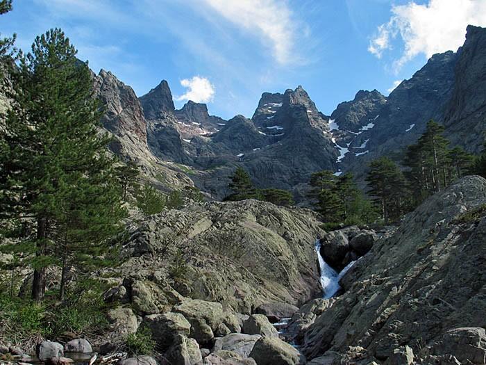 Montagne Corse sur le GR 20