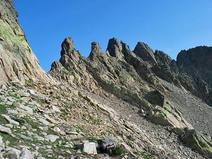 Brèche de Capitellu (2225 m)