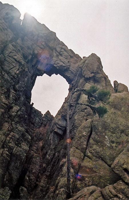 Randonn�e p�destre : Randonn�e en Corse : Tafonu di Cumpudellu - Trou de la Bombe