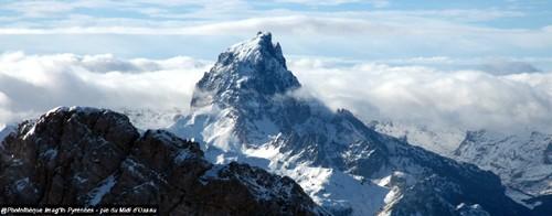 Pic du Midi d'Ossau depuis la montée au pic du Ger