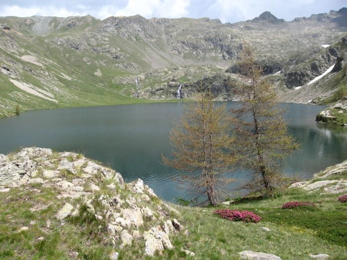 Lac de Vens depuis le sentier