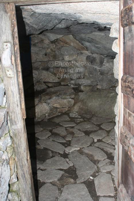 Intérieur de la Toue de Doumblas