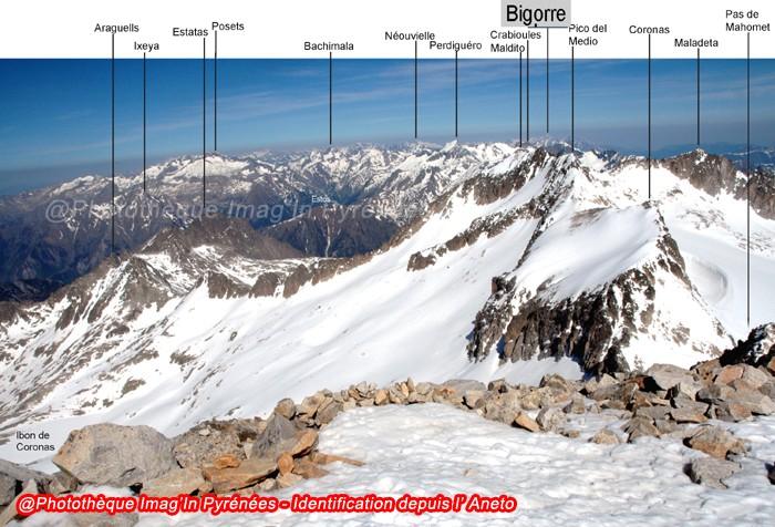Pic du Bigorre depuis Aneto