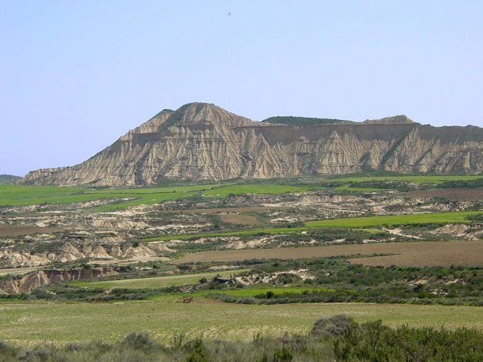 Il y a aussi du vert dans le désert des Bardenas