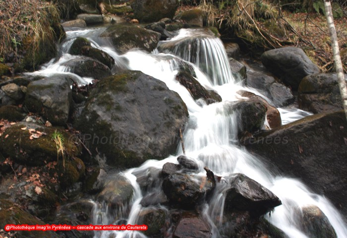 Cascade aux environs de Cauterets
