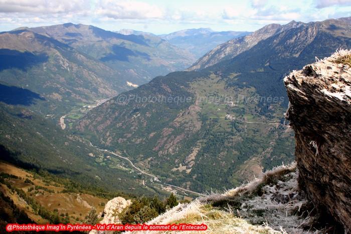 Val d'Aran depuis l'Entecade