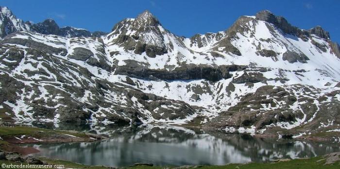 Lac d'Estaens ( Napazal, Cupula de Sécus)
