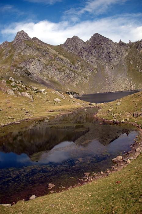 Lacs d'Ayous en août 2005
