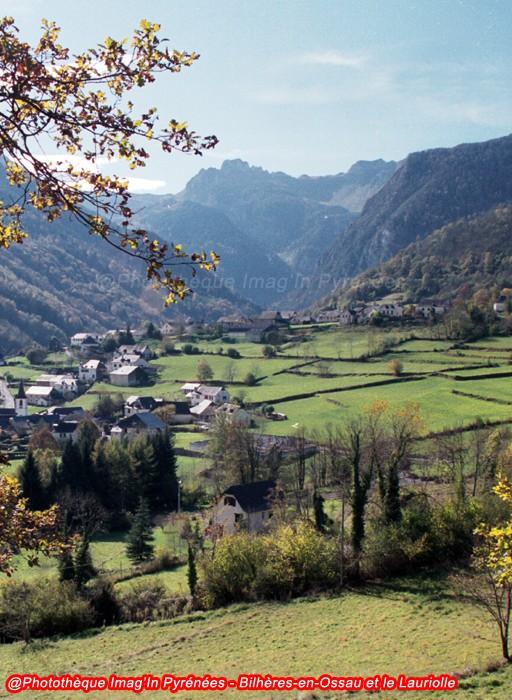 Lauriolle au-dessus de Bilhères